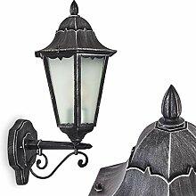 Außenwandleuchte Lignac Frost, Wandlampe