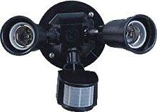 Außenwandleuchte mit PIR-Sensor T272 2xE27/150W