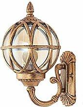 Außenwandleuchten Außenlampe Antik Bronze Farbe