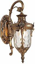 AußenWandleuchten-Retro-Bronze Außenlampe