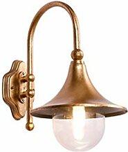 Außenwandleuchten Vintage Bronze Wandlampe Aussen