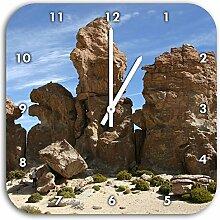 außergewöhnliche Felsbrocken in der Wüste,