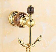 Außerhalb Des Hauses Alle Kupfer Marmor Haken Crystal Hook-Hanging Badezimmer Tür Hook Nach Wohnzimmer, C