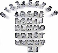 Ausstecher Ausstechformen Alphabet Buchstaben