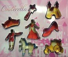 Ausstechformen-Set Cinderella