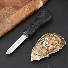 Austernmesser mit rutschfestem Griff, einfach zu