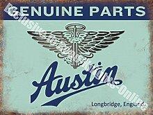 Austin Originalersatzteile Vintage Auto Garage Metall/Stahl Wandschild - 30 x 40 cm