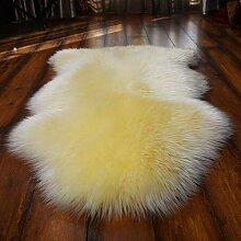 Australien Schaffell Wolle Teppich Wohnzimmer