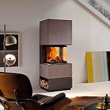AUSTROFLAMM Design-Kamin Mel 55 Beton Terra