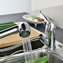 Ausziehbar Küchenarmatur Wasserhahn mit Zwei