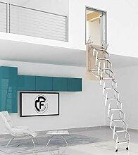 Ausziehbare Leiter für die Wand, verschiedene