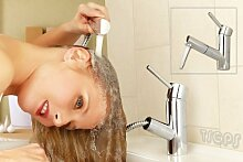 Ausziehbare Waschtisch Badezimmer Armatur