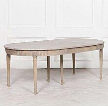 Ausziehbarer Esstisch aus rustikalem Holz