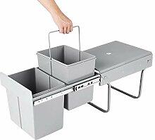 Ausziehbarer Mülleimer Küche, Mülleimer, 2