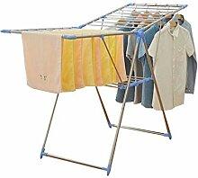 Ausziehbarer Wäscheständer aus Edelstahl