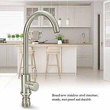 Ausziehbarer Wasserhahn, gebürstet Küchenarmatur