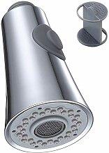 Ausziehbarer Wasserhahn-Sprühkopf, Winkel,