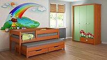 Ausziehbett für Kinder Kinder Junioren Matratze