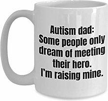 Autismus Papa Kaffeetasse Autismus Papa Zeug