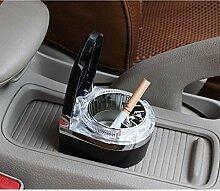 Auto Aschenbecher mit Led Light Metal Removable