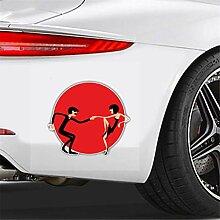 Auto-Aufkleber Cartoon Auto Aufkleber Schöne