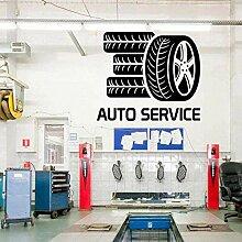 Auto Aufkleber Reifen Wandaufkleber abnehmbare