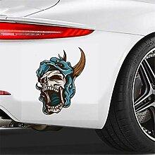 Auto-Aufkleber Terror Auto Aufkleber Roaring Demon