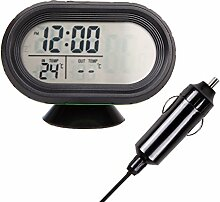 Auto Auto Digital Thermometer Spannungsmesser LCD