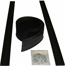 Auto Care Products 54009 9-Feet Garage Door Bottom Seal Kit with Track and Mounting Hardware by Auto Care Products