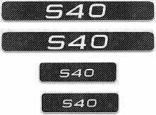 Auto Einstiegsleisten Aufkleber für VOLVO S40 ,4