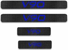 Auto Einstiegsleisten Aufkleber für VOLVO V90 ,4