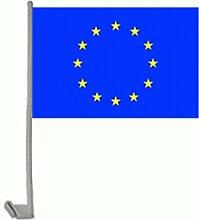 Auto-Fahne: Europa