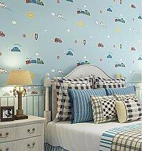 Streifentapete Kinderzimmer | Tapete Kinderzimmer Junge Riesenauswahl Zu Top Preisen