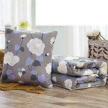 Auto Kissen Abdeckungen Dual-Use/ Kissen/Brach in das Büro NAP Kissen Sofa/ Klimaanlage/ Kissen-L 50x50cm(20x20inch)