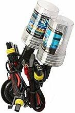Auto Lampe - SODIAL(R)2 * H7-Gluehlampen fuer 55W HID-Xenon Auto Lichtlampe - 8000K