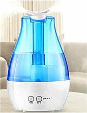 Auto-Off Ultraschall Kühler Nebel Luftbefeuchter?Aroma Luftbefeuchter mit,doppelter ausgang nebel,2.6L , blue