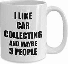 Auto sammeln Becher Liebhaber Ich mag lustige
