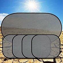 Auto-seitliche hintere Windschutzscheibe Mesh Sun Shade Baby Sonnenschutz Visier UV Block Cover