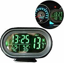 Auto Spannung Digital Monitor Batterie Wecker LCD