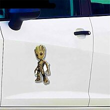 Auto-Styling-Aufkleber Baby Groot lustige