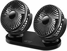 Auto Ventilator, Uong 12V/24V USB-Ventilatoren 360