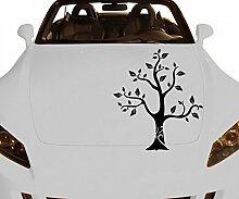 Autoaufkleber Baum Apfelbaum Pflanze Aufkleber
