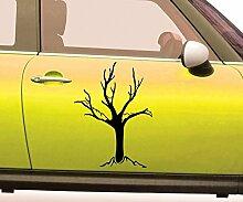 Autoaufkleber Baum kahl Bäume Pflanze Äste
