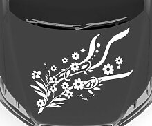 Autoaufkleber Blumenranke Ranke Blume Pflanze