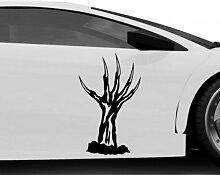 Autoaufkleber Horror Hand Monster Zombie Halloween