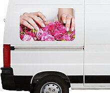 Autoaufkleber Nägel Studio Nagel rosa Hand Hände