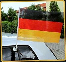 Autofahne Autoflagge WM EM Fußball Fahne 30x45cm
