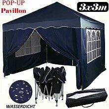 Autofather Pavillon 3x3, Pop-up Gartenzelt
