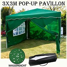 Autofather Pavillon 3x3m Pavillon Faltbar