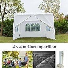 Autofather Tragbarer 3x4m Gartenpavillon,